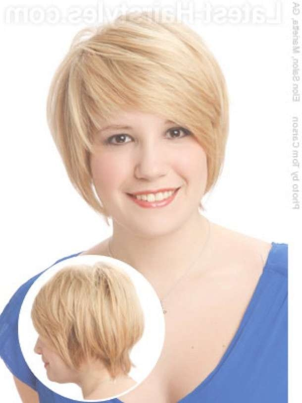 Best 25+ Hairstyles For Fat Faces Ideas On Pinterest | Fat Face Within Newest Medium Haircuts For Heavy Set Woman (View 12 of 15)