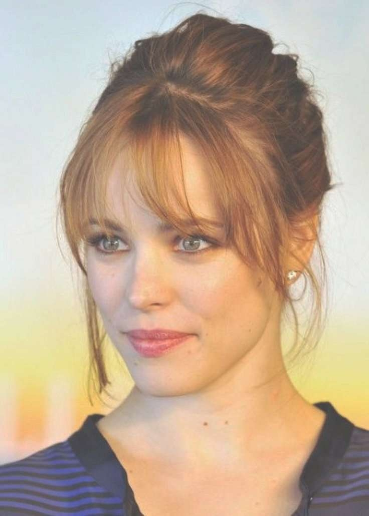 Featured Photo of Medium Hairstyles With Big Bangs