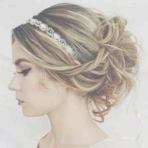 Best 25+ Hairstyles With Headbands Ideas On Pinterest   Headband Pertaining To Current Medium Hairstyles With Headbands (View 8 of 25)