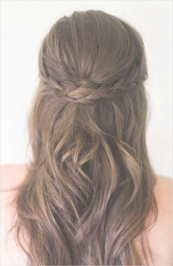 Best 25+ Half Up Half Down Ideas On Pinterest | Prom Hair Down Throughout Latest Down Medium Hairstyles (View 11 of 25)