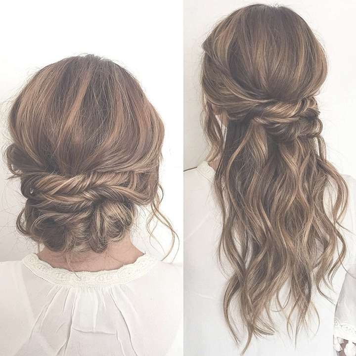 Best 25+ Half Up Half Down Ideas On Pinterest | Prom Hair Down With Regard To Most Recently Medium Hairstyles Half Up Half Down (View 5 of 25)