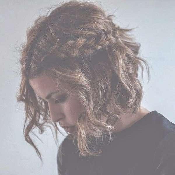 Best 25+ Half Up Half Down Short Hair Ideas On Pinterest | Styling With Regard To Best And Newest Half Short Half Medium Hairstyles (View 16 of 25)