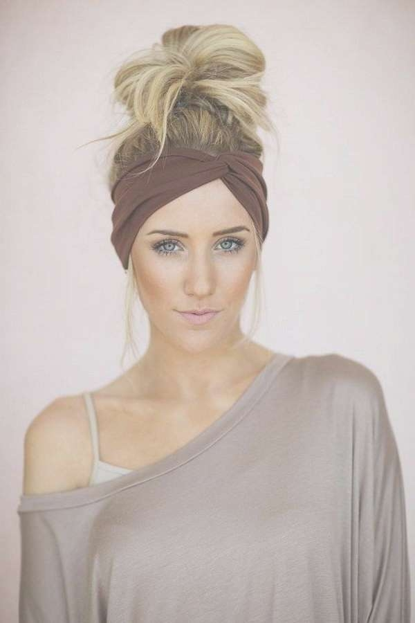 Best 25+ Headband Hairstyles Ideas On Pinterest | Hair Styles Pertaining To Most Recent Medium Hairstyles With Headband (View 2 of 15)
