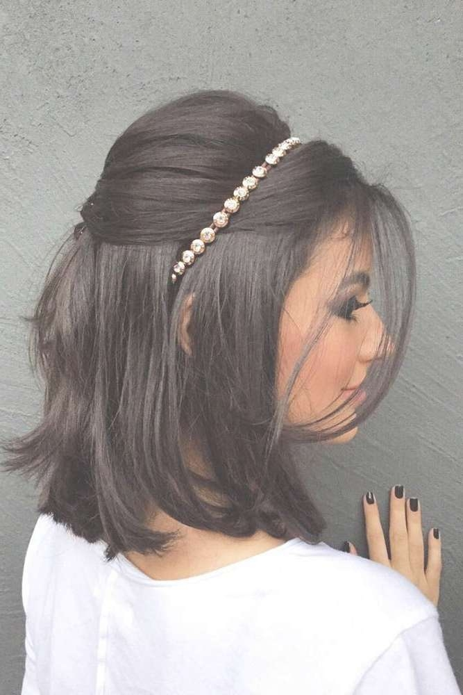 Best 25+ Headband Hairstyles Ideas On Pinterest   Hair Styles With Regard To Current Medium Hairstyles With Headbands (View 15 of 25)