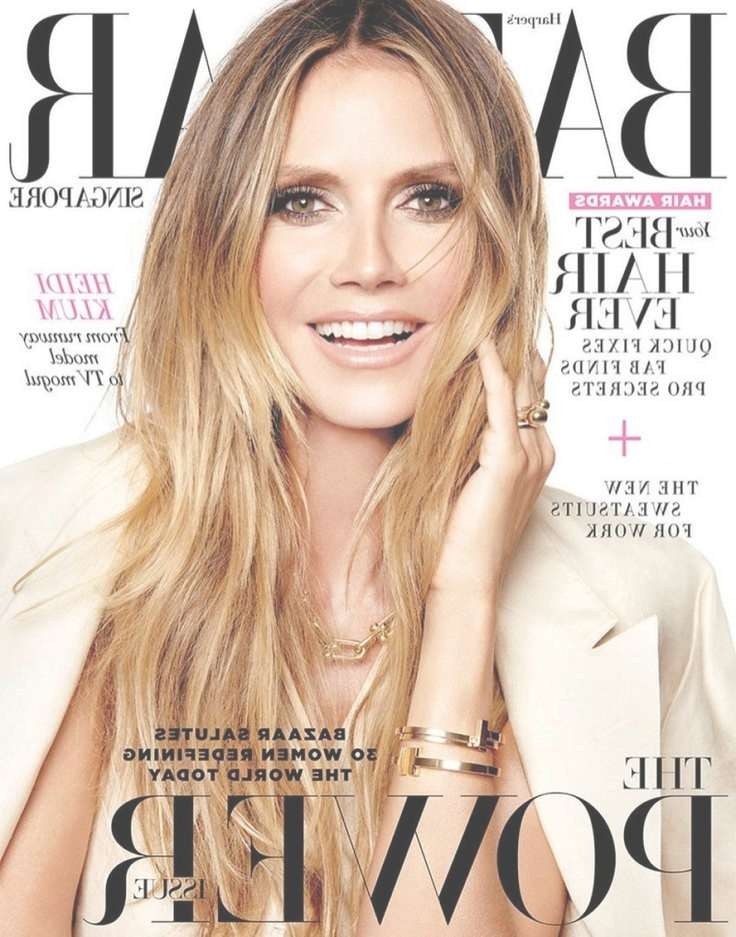 Best 25+ Heidi Klum Hair Ideas On Pinterest | Heidi Klum Model With Regard To Current Heidi Klum Medium Haircuts (View 8 of 25)