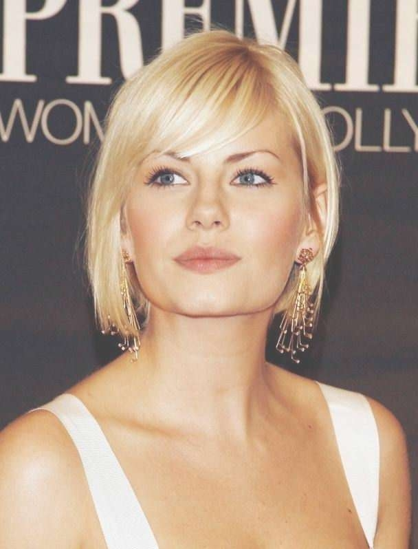 Photo Gallery Of Medium Haircuts For Women With Big Ears Showing 23