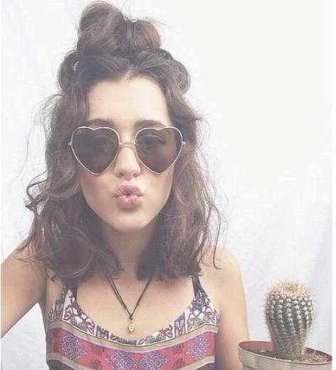 Featured Photo of Hippie Medium Hairstyles