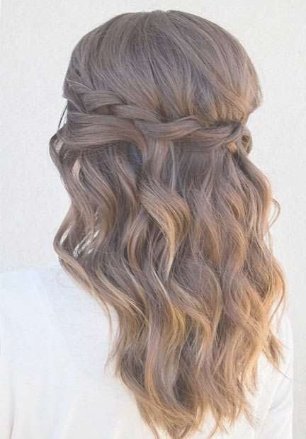 Best 25+ Homecoming Hairstyles Ideas On Pinterest | Homecoming Intended For Recent Medium Hairstyles For Homecoming (View 2 of 25)