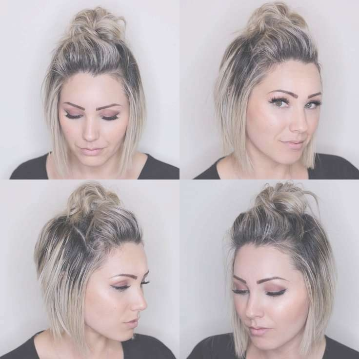 Best 25+ Ideas For Short Hairstyles Ideas On Pinterest With Regard To Bob Hair Updo (View 21 of 25)
