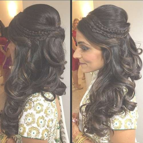 Best 25+ Indian Hairstyles Ideas On Pinterest | Indian Wedding Throughout 2018 Medium Hairstyles For Indian Wedding (View 6 of 15)