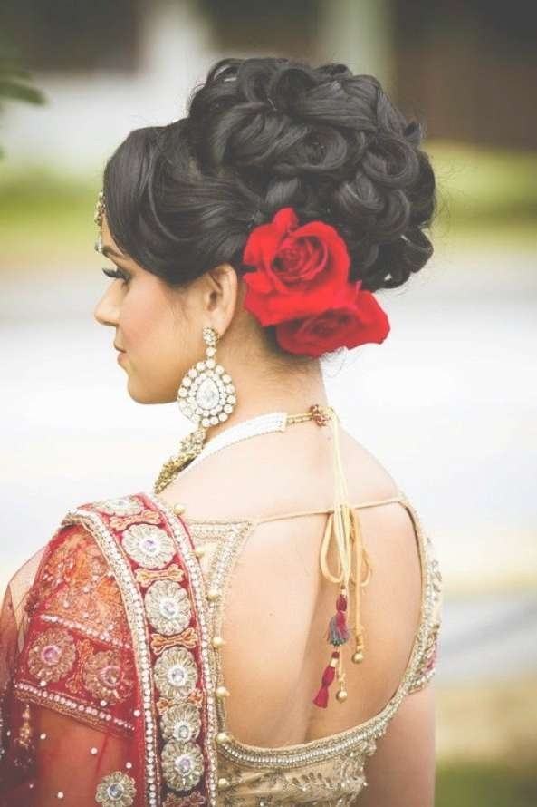 Best 25+ Indian Wedding Hairstyles Ideas On Pinterest | Indian Inside 2018 Medium Hairstyles For Indian Wedding (View 8 of 15)