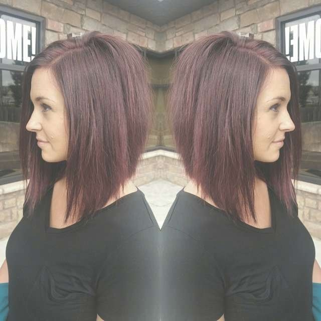 Best 25+ Inverted Bob Cuts Ideas On Pinterest | Women's Sports Mix Pertaining To Most Recent Dramatic Medium Hairstyles (View 14 of 15)