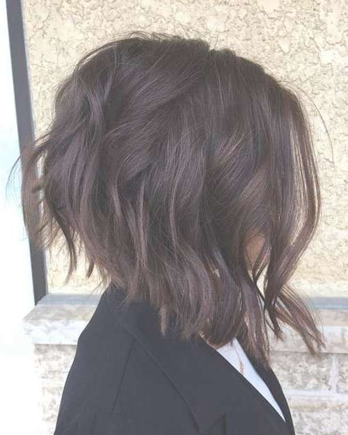 Best 25+ Inverted Bob Hairstyles Ideas On Pinterest | Layered Throughout Inverted Bob Hairstyles (View 21 of 25)