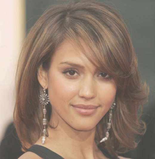 Best 25+ Jessica Alba Bangs Ideas On Pinterest | Jessica Alba Inside Current Medium Hairstyles For Evening Wear (View 7 of 25)