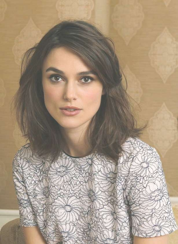 Best 25+ Keira Knightley Hair Ideas On Pinterest | Kiera Knightly In Most Up To Date Keira Knightley Medium Haircuts (View 11 of 25)