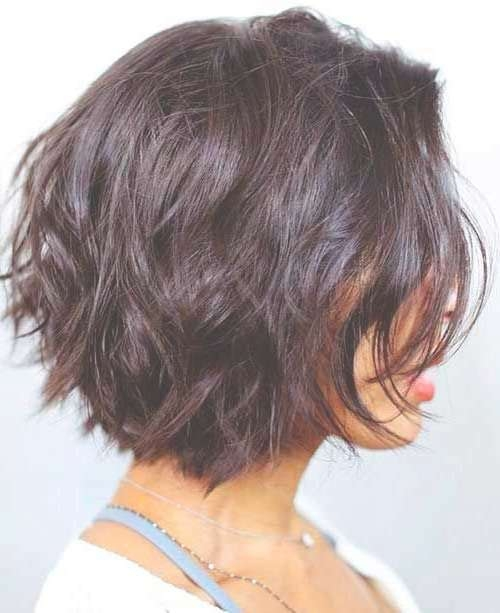 Best 25+ Layered Bob Hairstyles Ideas On Pinterest | A Line With Regard To Bob Haircuts With Layers (View 23 of 25)