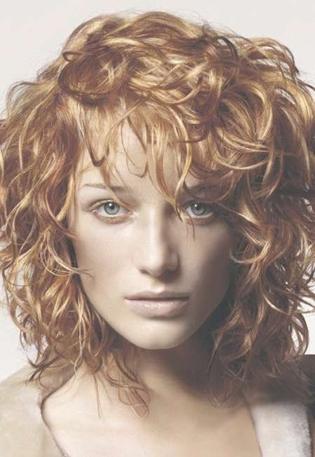 Best 25+ Layered Curly Hairstyles Ideas On Pinterest | Short Curly Regarding Current Medium Hairstyles With Layers And Curls (View 18 of 25)