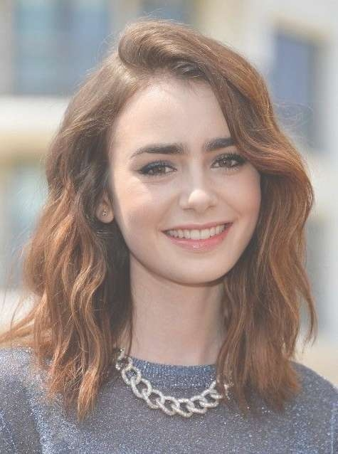 Best 25+ Lob Haircut 2015 Ideas On Pinterest   Long Bob 2015, Long With Regard To Recent Low Maintenance Medium Haircuts For Thick Hair (View 5 of 25)