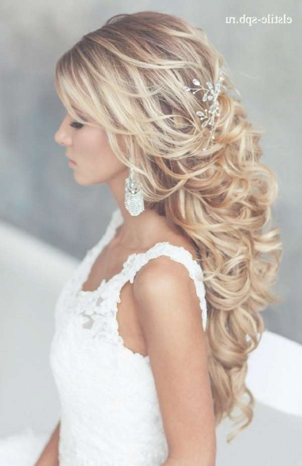 Featured Photo of Wedding Long Down Hairstyles