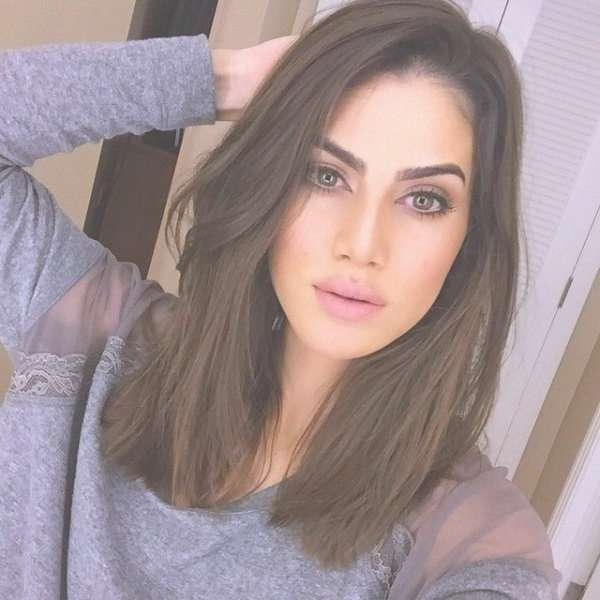 Best 25+ Long Face Hairstyles Ideas On Pinterest | Long Hairstyles Inside 2018 Medium Haircuts On Long Faces (View 13 of 25)