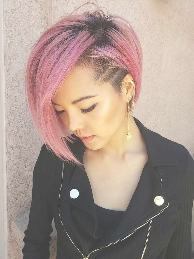Best 25+ Long Hair With Shaved Sides Ideas On Pinterest | Long In Most Recent Medium Haircuts With One Side Shaved (View 9 of 25)