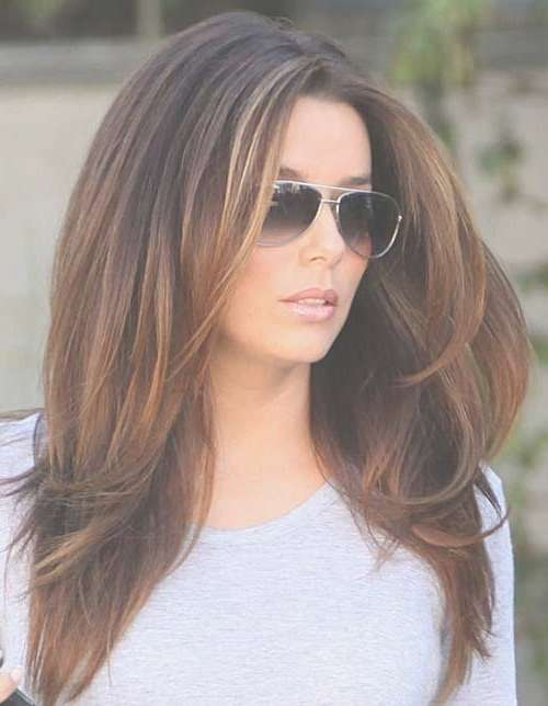 Best 25+ Long Layer Hairstyles Ideas On Pinterest | Long Layered Within Most Popular Medium Hairstyles Brunette Layers (View 8 of 25)