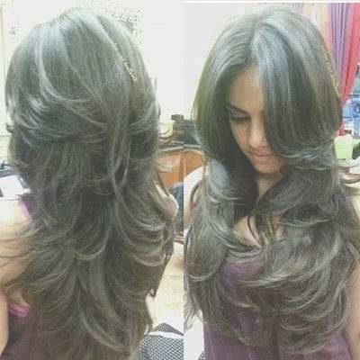 Best 25+ Long Layered Haircuts Ideas On Pinterest | Layered Hair For Most Popular Layered Long Haircut Styles (View 11 of 25)