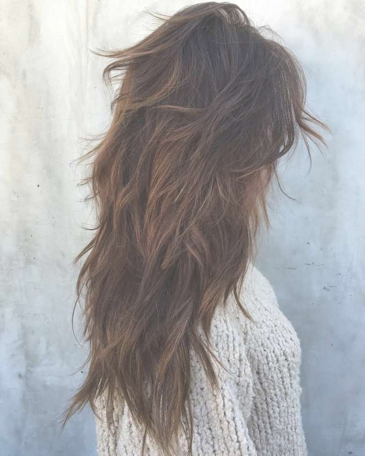 Best 25+ Long Layered Haircuts Ideas On Pinterest | Layered Hair With 2018 Long Haircut With Layers (View 8 of 25)