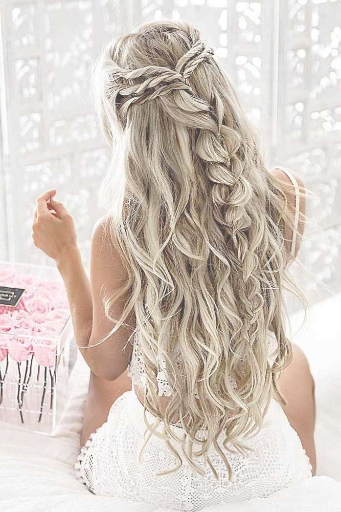 Best 25+ Long Prom Hair Ideas On Pinterest | Prom Hairstyles For With Recent Long Hairstyle For Prom (View 4 of 25)
