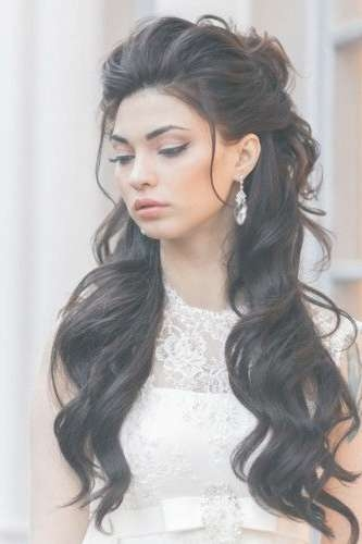 Best 25+ Long Prom Hair Ideas On Pinterest | Prom Hairstyles For With Regard To Current Long Hairstyle For Prom (View 13 of 25)