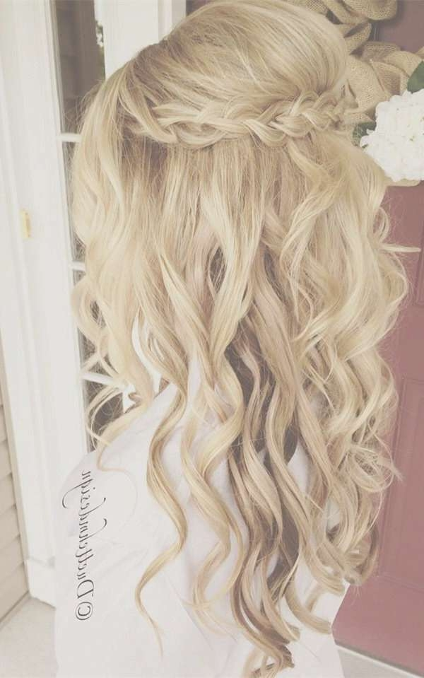 Best 25+ Long Wedding Hairstyles Ideas On Pinterest | Wedding Regarding Latest Long Hairstyle For Wedding (View 2 of 25)