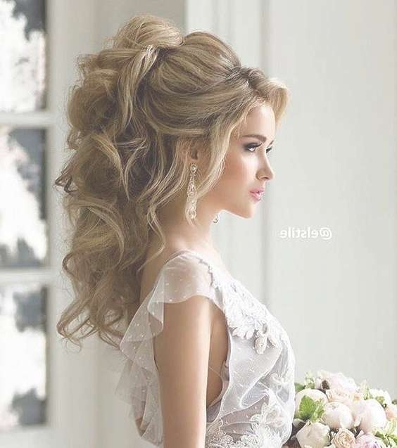 Best 25+ Long Wedding Hairstyles Ideas On Pinterest | Wedding With Most Current Long Hairstyle For Wedding (View 4 of 25)