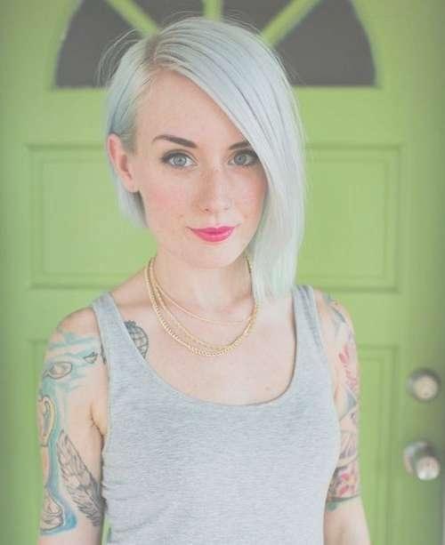 Best 25+ Medium Asymmetrical Hairstyles Ideas On Pinterest | Lob In Most Recent Symmetrical Medium Haircuts (View 14 of 25)