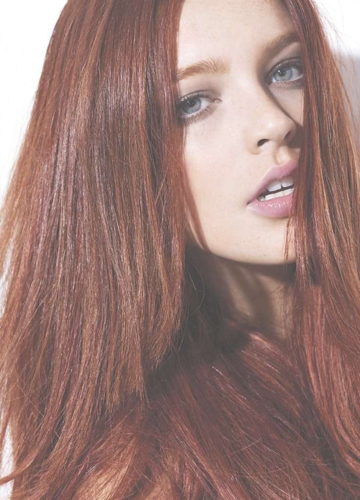 Best 25+ Medium Auburn Hair Ideas On Pinterest | Red Hair Cuts With Regard To Latest Auburn Medium Haircuts (View 13 of 25)