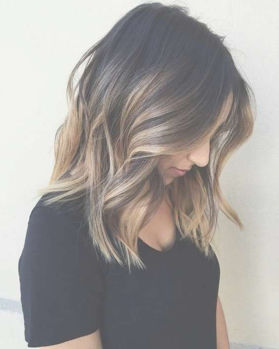 Best 25+ Medium Balayage Hair Ideas On Pinterest | Blonde Balyage With Best And Newest Medium Hairstyles With Balayage (View 10 of 15)