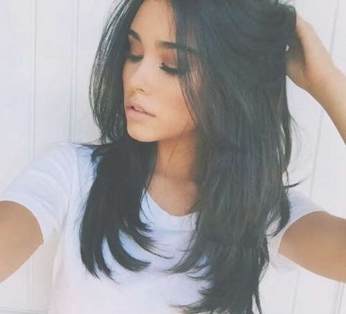 Best 25+ Medium Black Hair Ideas On Pinterest | Dark Lob, Black Intended For Latest Medium Haircuts For Ethnic Hair (View 16 of 25)