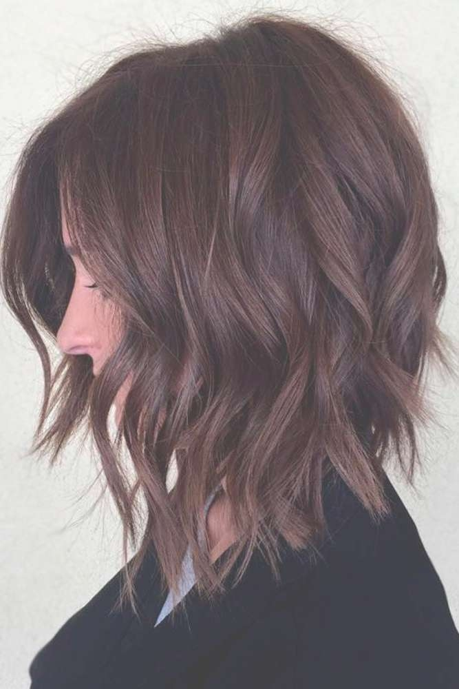 Best 25+ Medium Bob Hairstyles Ideas On Pinterest   Medium Bobs Regarding Medium Bob Cut Hairstyles (View 9 of 25)