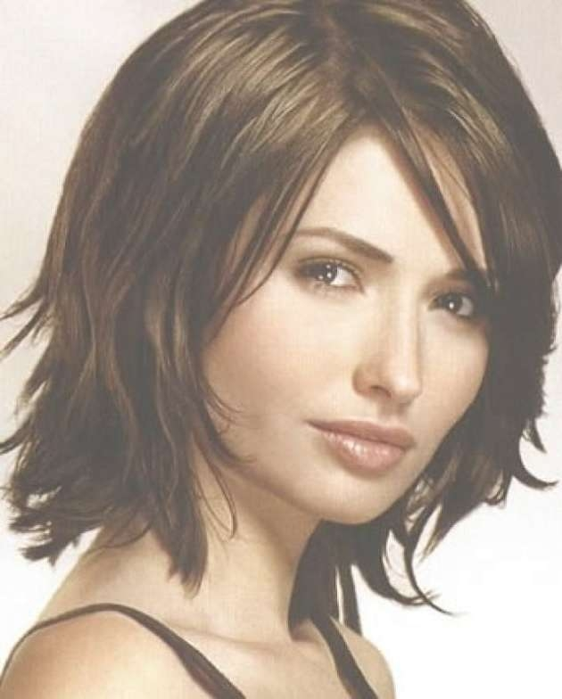 Image Gallery Of Choppy Medium Haircuts For Fine Hair View 18 Of 25