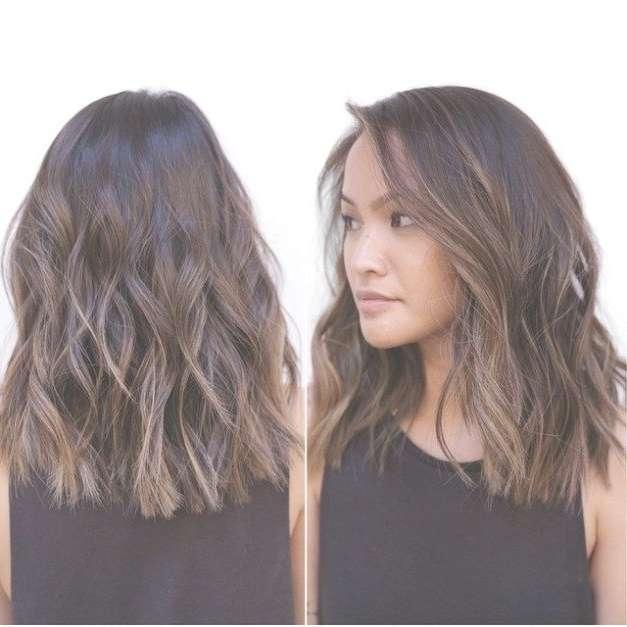 Best 25+ Medium Choppy Hairstyles Ideas On Pinterest | Choppy Pertaining To 2018 Medium Medium Haircuts For Thick Wavy Hair (View 18 of 25)