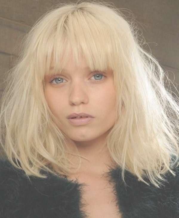 Best 25+ Medium Choppy Hairstyles Ideas On Pinterest | Choppy Pertaining To Latest Choppy Medium Haircuts For Fine Hair (View 16 of 25)