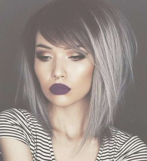 Best 25+ Medium Emo Hair Ideas On Pinterest | Medium Scene Hair Within Most Up To Date Medium Haircuts For Women With Grey Hair (View 6 of 25)