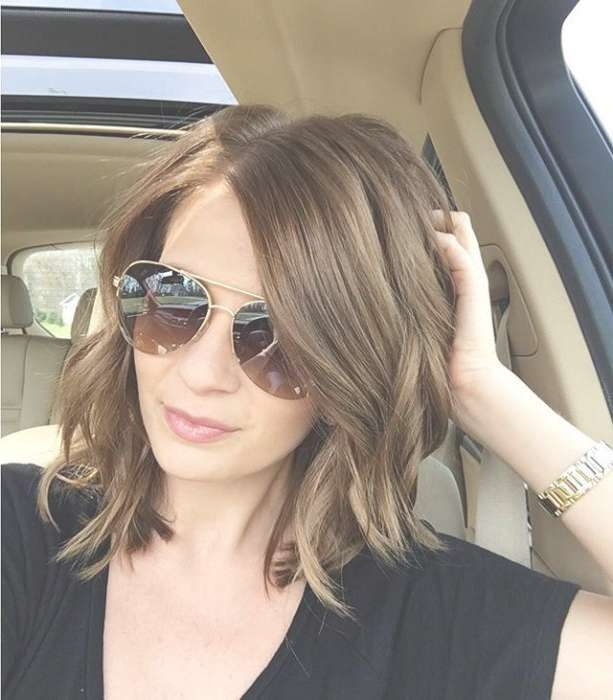 Best 25+ Medium Fine Hair Ideas On Pinterest | Style Fine Hair Pertaining To Most Popular Medium Haircuts For Thick Fine Hair (View 15 of 25)