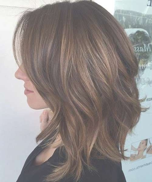 Best 25+ Medium Hair Highlights Ideas On Pinterest | Hair Inspo For Most Recently Highlighted Medium Hairstyles (View 3 of 25)