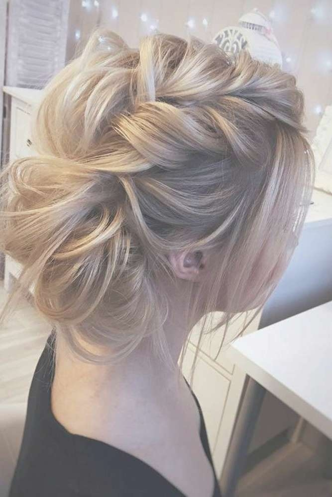 Best 25+ Medium Hair Updo Ideas On Pinterest | Hair Updos For Throughout Newest Medium Hairstyles For Prom Updos (View 12 of 15)