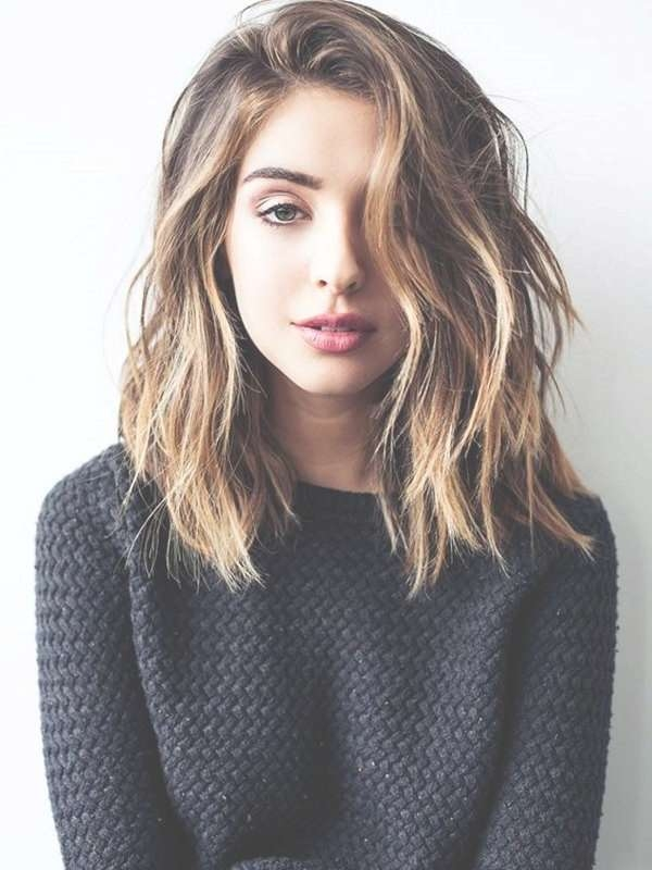 Best 25+ Medium Haircuts For Women Ideas On Pinterest | Medium Intended For Most Recent Feminine Medium Hairstyles For Women (View 4 of 15)