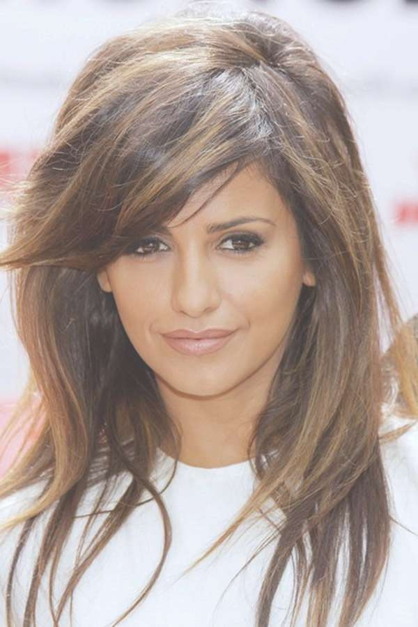 Best 25+ Medium Haircuts With Bangs Ideas On Pinterest   Hair Cuts Within Newest Medium Medium Haircuts With Side Bangs (View 21 of 25)