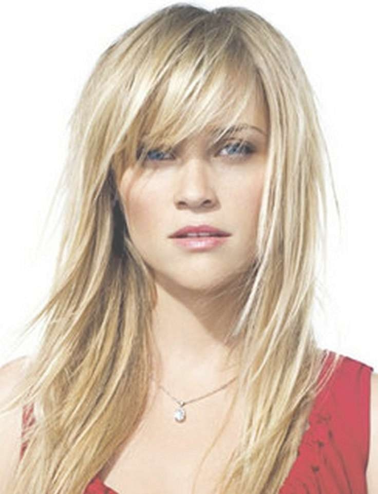 Best 25+ Medium Hairstyles With Bangs Ideas On Pinterest Inside Most Popular Medium Hairstyles With Long Bangs (View 15 of 25)