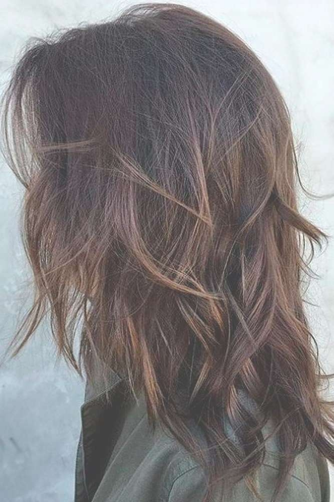 Best 25+ Medium Layered Hair Ideas On Pinterest | Medium Length For Most Up To Date Medium Hairstyles Without Layers (View 8 of 25)
