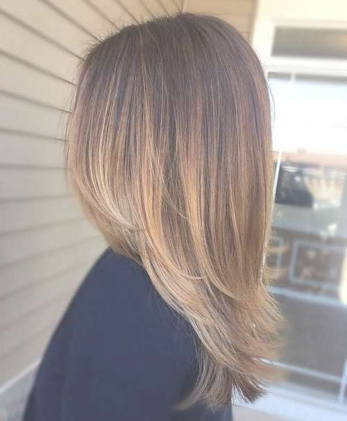 Best 25+ Medium Layered Hair Ideas On Pinterest | Medium Length With Current Medium Hairstyles Without Layers (View 7 of 25)