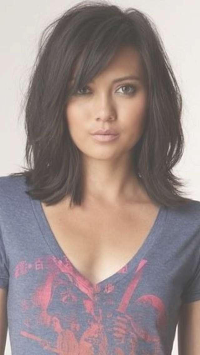 Best 25+ Medium Layered Haircuts Ideas On Pinterest | Medium Pertaining To Recent Medium Hairstyles Brunette Layers (View 9 of 25)